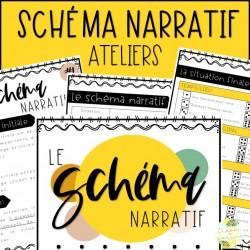 Le schéma narratif - Ateliers - 3e cycle