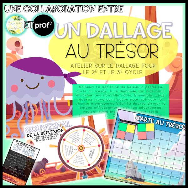 Un dallage au trésor - 2e et 3e cycle