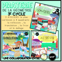 Ensemble Piraterie de la géométrie