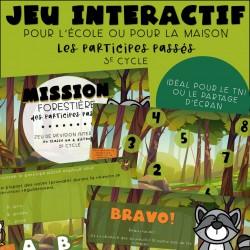 Jeu interactif - Participes passés - 3e cycle