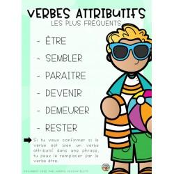 Outil - Verbes attributifs - 3e cycle