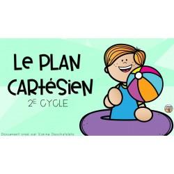 Mini-leçon - Le plan cartésien - 2e cycle