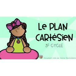 Mini-leçon - Le plan cartésien - 3e cycle