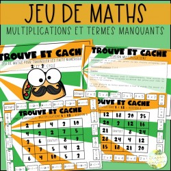 Trouve et cache - Multiplications