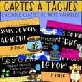 Ensemble - Cartes à tâches - Classes de mots