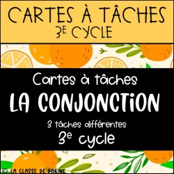 Cartes à tâches - La conjonction