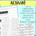 Gestion de classe - Les 6 habitudes d'un élève