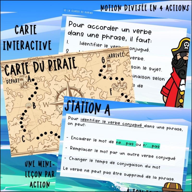 Accord Du Verbe Atelier 3e Cycle