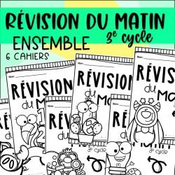 Révision du matin - Ensemble - 3e cycle