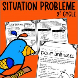 Le refuge pour animaux - 2e cycle