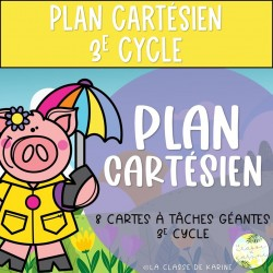 Plan cartésien - 3e cycle