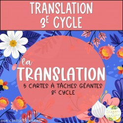 Translation - 3e cycle