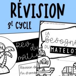 Révision Fin d'année - 3e cycle