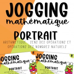 Jogging Maths - Opérations - 3e cycle