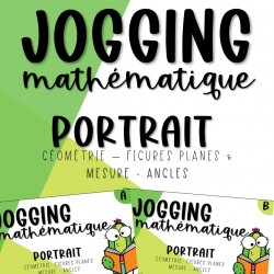 Jogging Maths - Géométrie - 3e cycle