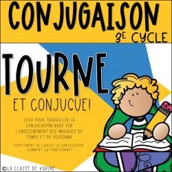 Tourne et conjugue - 3e cycle