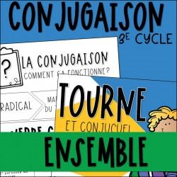 Ensemble - Conjugaison et jeux - 3e cycle