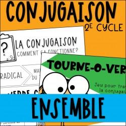Ensemble - Conjugaison et jeux - 2e cycle