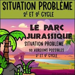 Le parc jurassique - C1 - 2e et 3e cycle