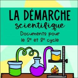 Démarche scientifique - 2e et 3e cycle