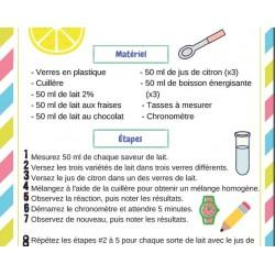 Expérience Science 3e cycle
