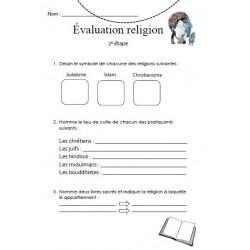 Petite évaluation religion