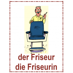 Berufe (Professions en allemand) Affiches