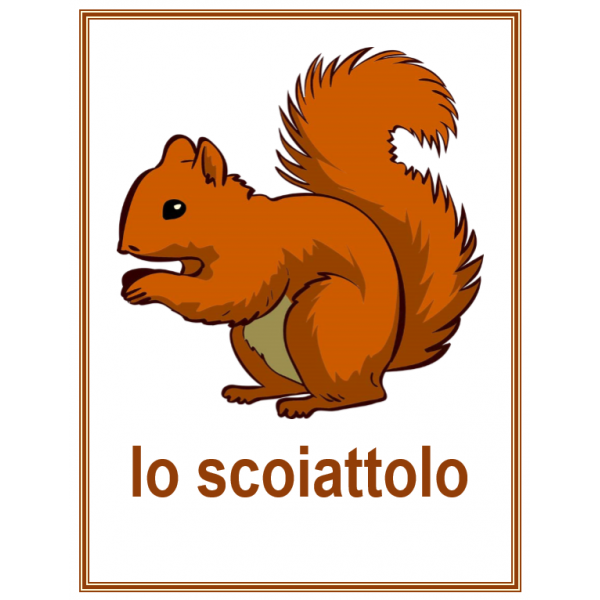 Animali (Animaux en italien) Affiches