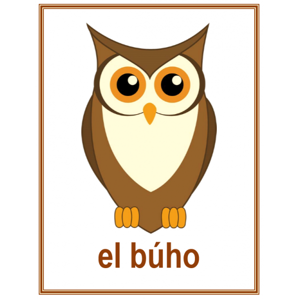 Animales (Animaux en espagnol) Affiches