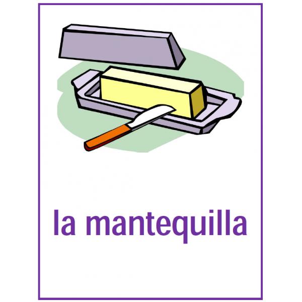 Comida (Nourriture en espagnol) Affiches