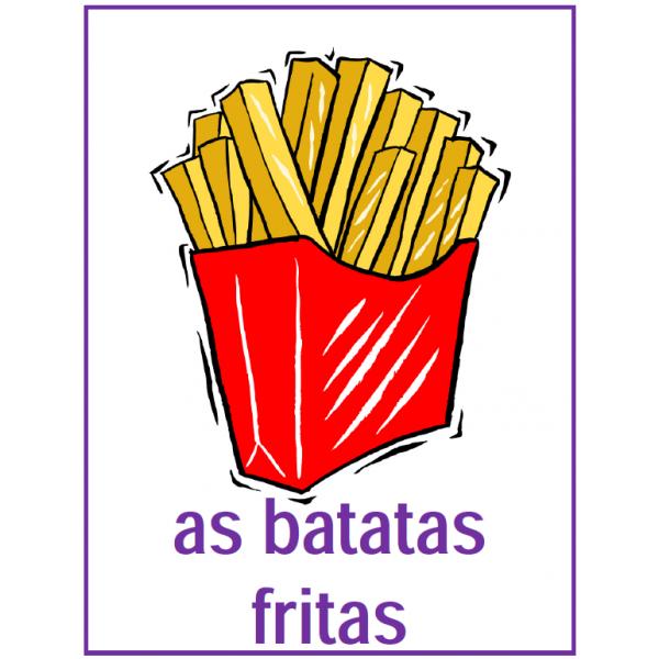 Comida (Nourriture en portugais) Affiches