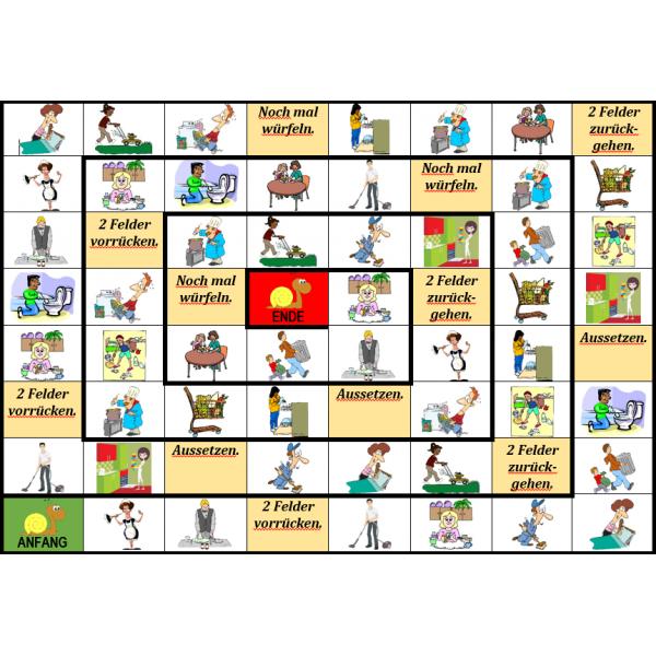 Hausarbeit auf Deutsch Schneckenspiel