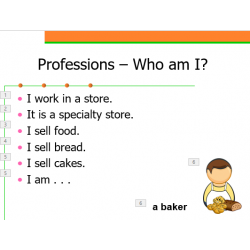 Professions in English Who am I