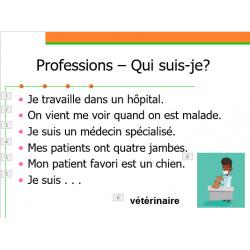Professions en français Qui suis-je