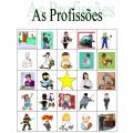 Profissões em português Bingo
