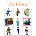 Berufe auf Deutsch Bingo