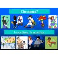 Professioni in italiano PowerPoint