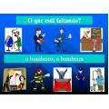 Profissões em português PowerPoint