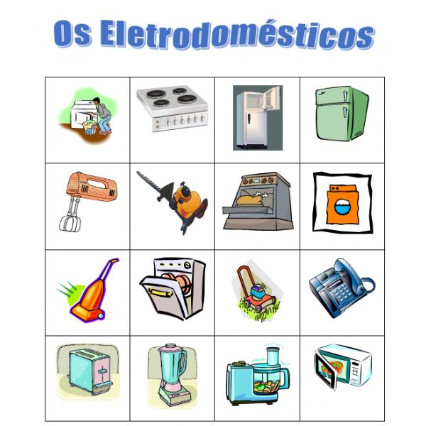 Eletrodomésticos (Appareils) Bingo