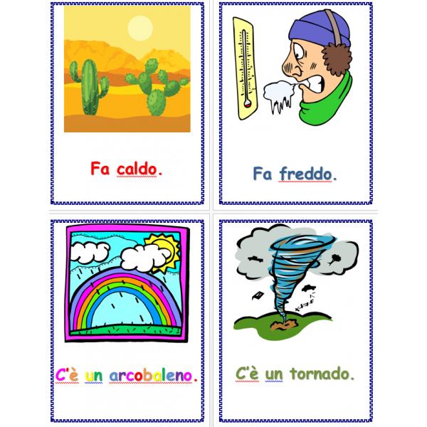 Tempo in italiano Poster
