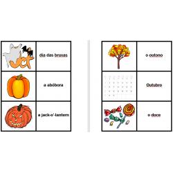 Dia das Bruxas em português Jeux de cartes