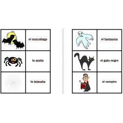 Noche de Brujas en español Jeux de cartes