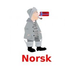 Skolefag en norvégien Affiches