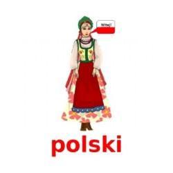 Przedmioty szkolne en polonais Affiches