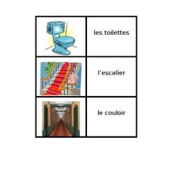 Maison en français Jeux de Cartes