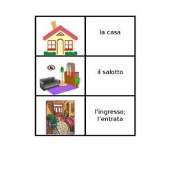 Casa in italiano Giochi di Carte