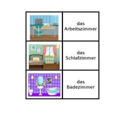 Haus auf Deutsch Kartenspiele