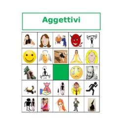Aggettivi in italiano Bingo