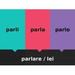 Verbi ARE in italiano Scacciamosche
