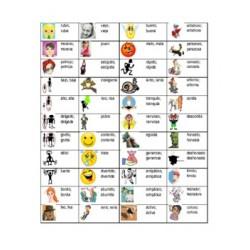Adjetivos en español Tapis de bureau